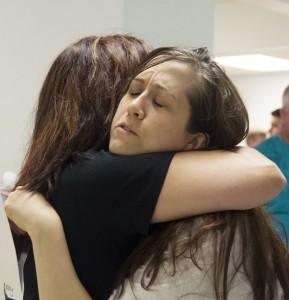 Rebecca hug